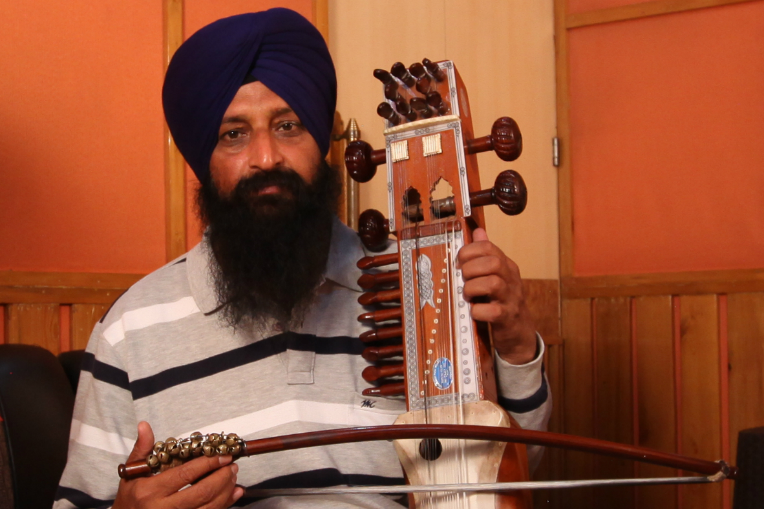 Dheera Singh image - Sarangi and Dhad player